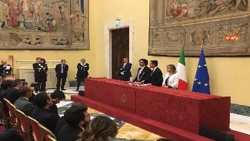 2 - Consultazioni, Di Maio, Toninelli e Giulia Grillo a Montecitorio