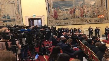 9 - Consultazioni, Di Maio, Toninelli e Giulia Grillo a Montecitorio