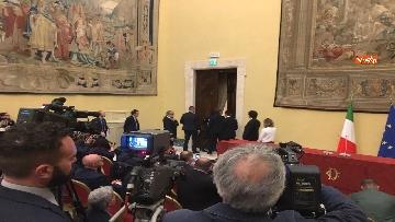 5 - Consultazioni, Di Maio, Toninelli e Giulia Grillo a Montecitorio