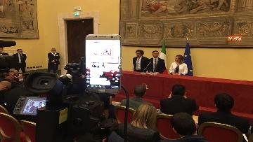 12 - Consultazioni, Di Maio, Toninelli e Giulia Grillo a Montecitorio