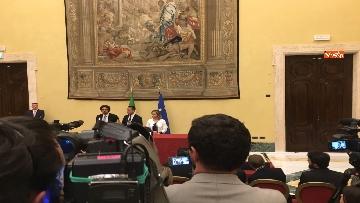 14 - Consultazioni, Di Maio, Toninelli e Giulia Grillo a Montecitorio