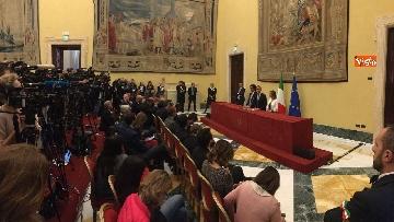 10 - Consultazioni, Di Maio, Toninelli e Giulia Grillo a Montecitorio