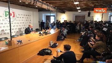2 - Zingaretti incontra la stampa al Nazareno