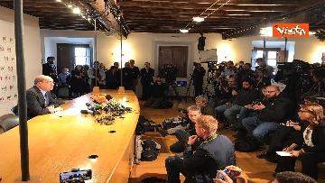 4 - Zingaretti incontra la stampa al Nazareno