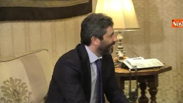 9 - Primo incontro ufficiale tra Fico e Casellati, i Presidenti al Senato