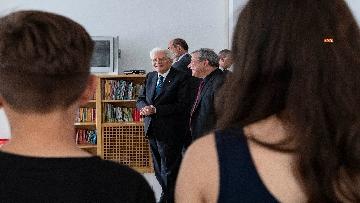 2 - Il presidente Mattarella al Centro Italiano di Solidarietà Don Mario Picchi