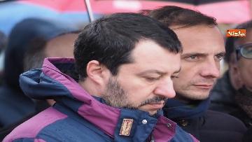 2 - Il ministro Salvini alla Foiba di Basovizza