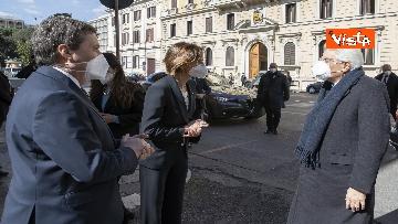 1 - Mattarella all'Assemblea plenaria del Csm, le immagini