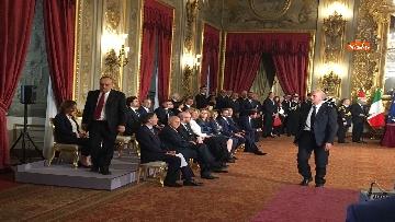 8 - Il giuramento di Bonisoli, ministro dei Beni Culturali