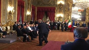 6 - Il giuramento di Bonisoli, ministro dei Beni Culturali
