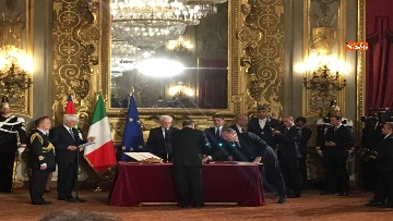 7 - Il giuramento di Bonisoli, ministro dei Beni Culturali