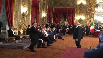 5 - Il giuramento di Bonisoli, ministro dei Beni Culturali