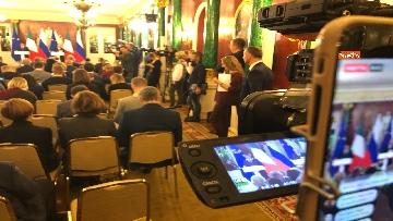 3 - Conte e Putin in conferenza stampa congiunta al Cremlino al termine dell'incontro istituzionale