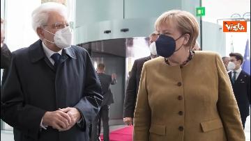 7 - Il Presidente Mattarella a Berlino incontra Angela Merkel