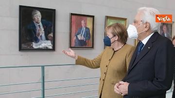 1 - Il Presidente Mattarella a Berlino incontra Angela Merkel