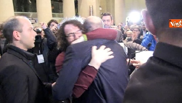 8 - FOTO GALLERY - Zingaretti riconfermato presidente della Regione Lazio, il discorso al Tempio di Adriano