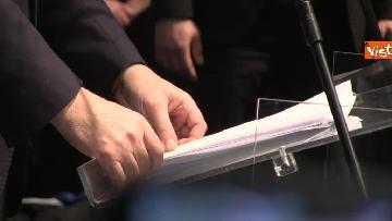 6 - FOTO GALLERY - Zingaretti riconfermato presidente della Regione Lazio, il discorso al Tempio di Adriano