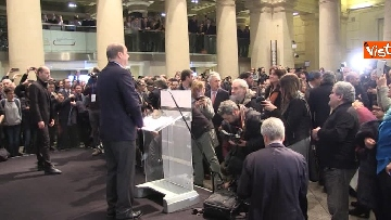 5 - FOTO GALLERY - Zingaretti riconfermato presidente della Regione Lazio, il discorso al Tempio di Adriano