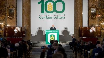 1 - Mattarella alla cerimonia per il centenario di Confagricoltura