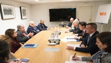2 - Libia, Merkel accoglie Conte e Di Maio alla Conferenza di Berlino