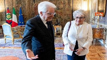 3 - Mattarella incontra i vertici del quotidiano 'La Repubblica'