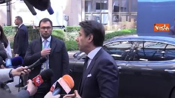 3 - Conte intervistato al termine del Consiglio Europeo a Bruxelles