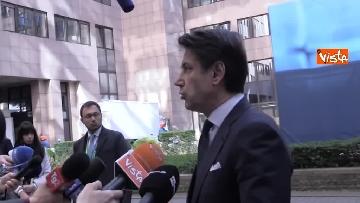 2 - Conte intervistato al termine del Consiglio Europeo a Bruxelles