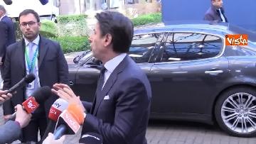 4 - Conte intervistato al termine del Consiglio Europeo a Bruxelles