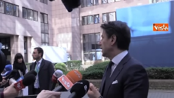 1 - Conte intervistato al termine del Consiglio Europeo a Bruxelles