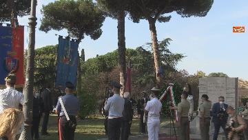 5 - Mattarella al 77° anniversario Difesa di Roma, l'omaggio ai caduti al Parco della Resistenza. Le foto