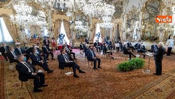 4 - Mattarella incontra al Quirinale i Presidenti di Regione