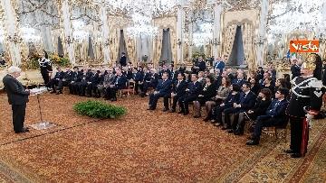 9 - Mattarella incontra i Magistrati di nuova nomina della Corte dei Conti