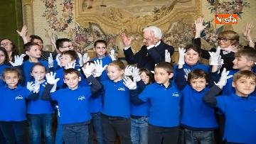 6 - Mattarella riceve studenti delle scuole primarie nella Giornata internazionale della disabilità