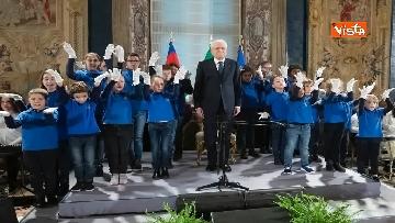 8 - Mattarella riceve studenti delle scuole primarie nella Giornata internazionale della disabilità