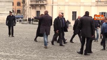 11 - Consultazioni, Roberto Fico al Quirinale per incontrare Mattarella