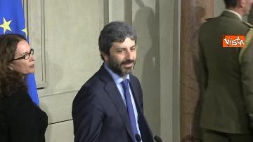 5 - Consultazioni, Roberto Fico al Quirinale per incontrare Mattarella