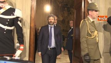7 - Consultazioni, Roberto Fico al Quirinale per incontrare Mattarella