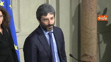 6 - Consultazioni, Roberto Fico al Quirinale per incontrare Mattarella