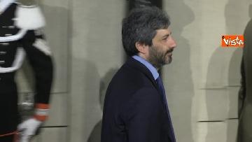 4 - Consultazioni, Roberto Fico al Quirinale per incontrare Mattarella