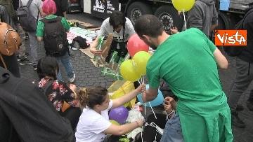 2 - Million marijuana march, il corteo per la legalizzazione della cannabis per le strade di Roma