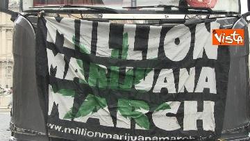 3 - Million marijuana march, il corteo per la legalizzazione della cannabis per le strade di Roma