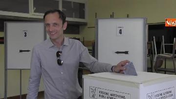 4 - Fedriga, candidato del centro-destra per le elezioni in Friuli-Venezia-Giulia, al voto
