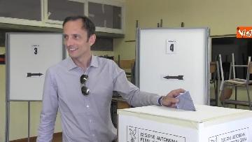 5 - Fedriga, candidato del centro-destra per le elezioni in Friuli-Venezia-Giulia, al voto