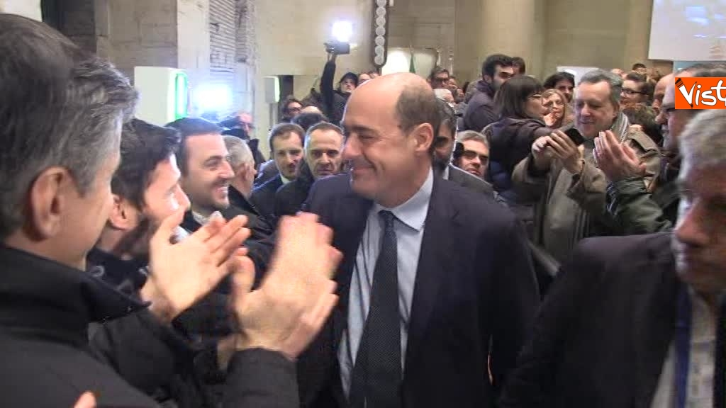 Zingaretti riconfermato presidente della Regione Lazio 2