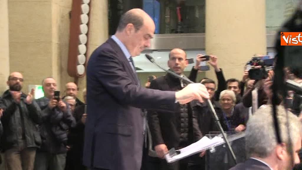 Zingaretti riconfermato presidente della Regione Lazio 4