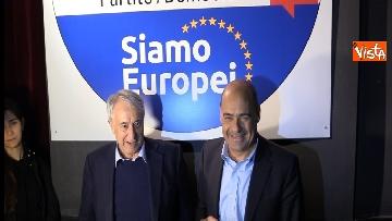 3 - Europee, Zingaretti lancia la campagna elettorale a Milano
