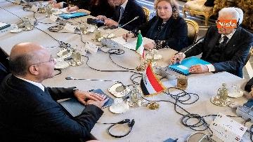 1 - Mattarella incontra il Presidente dell'Iraq Salih