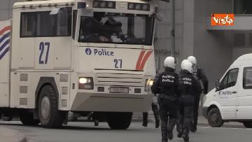 13 - I Gilet gialli protestano a Bruxelles