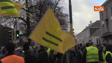 4 - I Gilet gialli protestano a Bruxelles