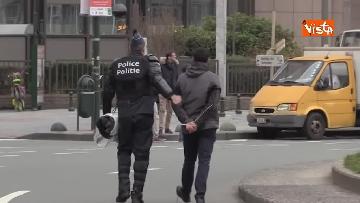 14 - I Gilet gialli protestano a Bruxelles